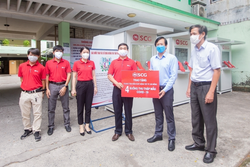 SCG Cement – Building Materials builds COVID-19 mobile pressure chambers for Danang