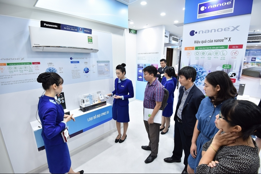 Panasonic launches Quality Air for Life demo zone