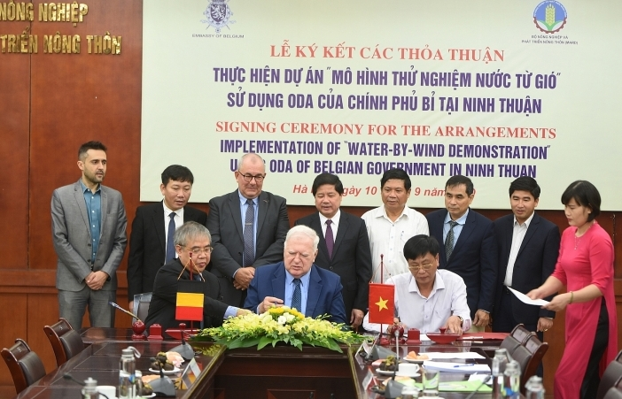 Ninh Thuan to implement water-by-wind demonstration project