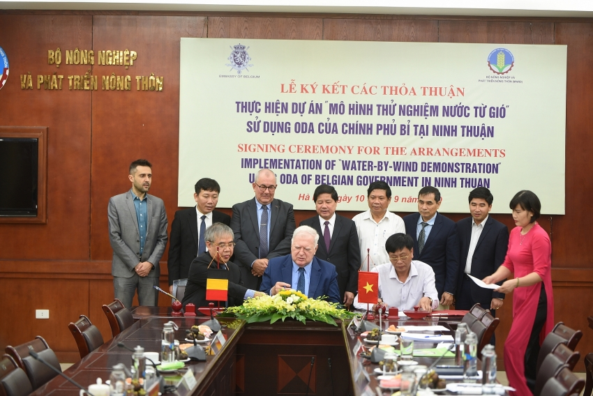 ninh thuan to implement water by wind demonstration project