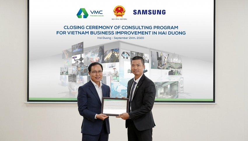 An Phat Holdings successfully completes consultancy programme of MoIT and Samsung Vietnam