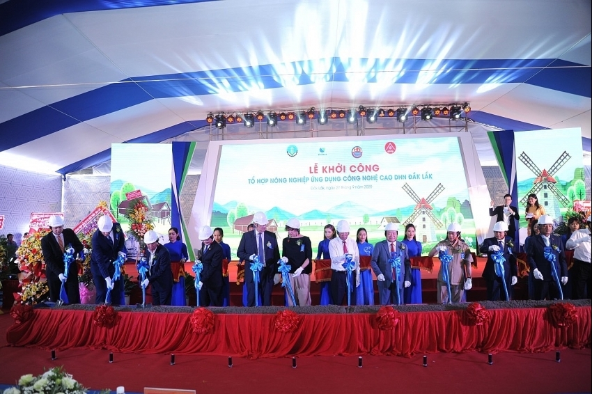 Construction of $66 million hi-tech agricultural complex kicked off in Dak Lak