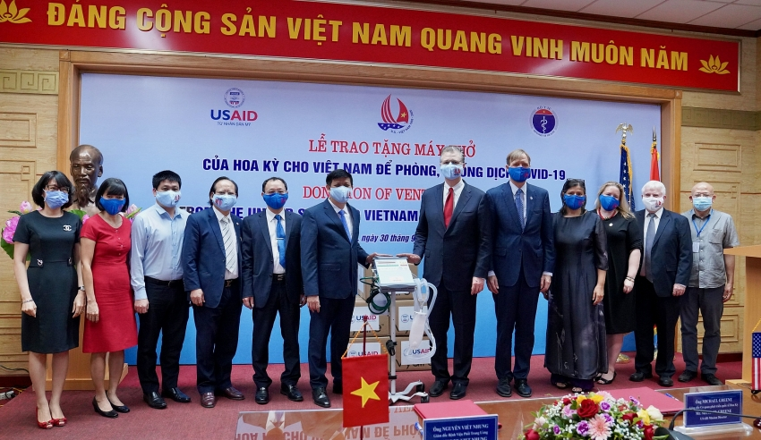 us provides ventilators to help vietnam respond to covid 19
