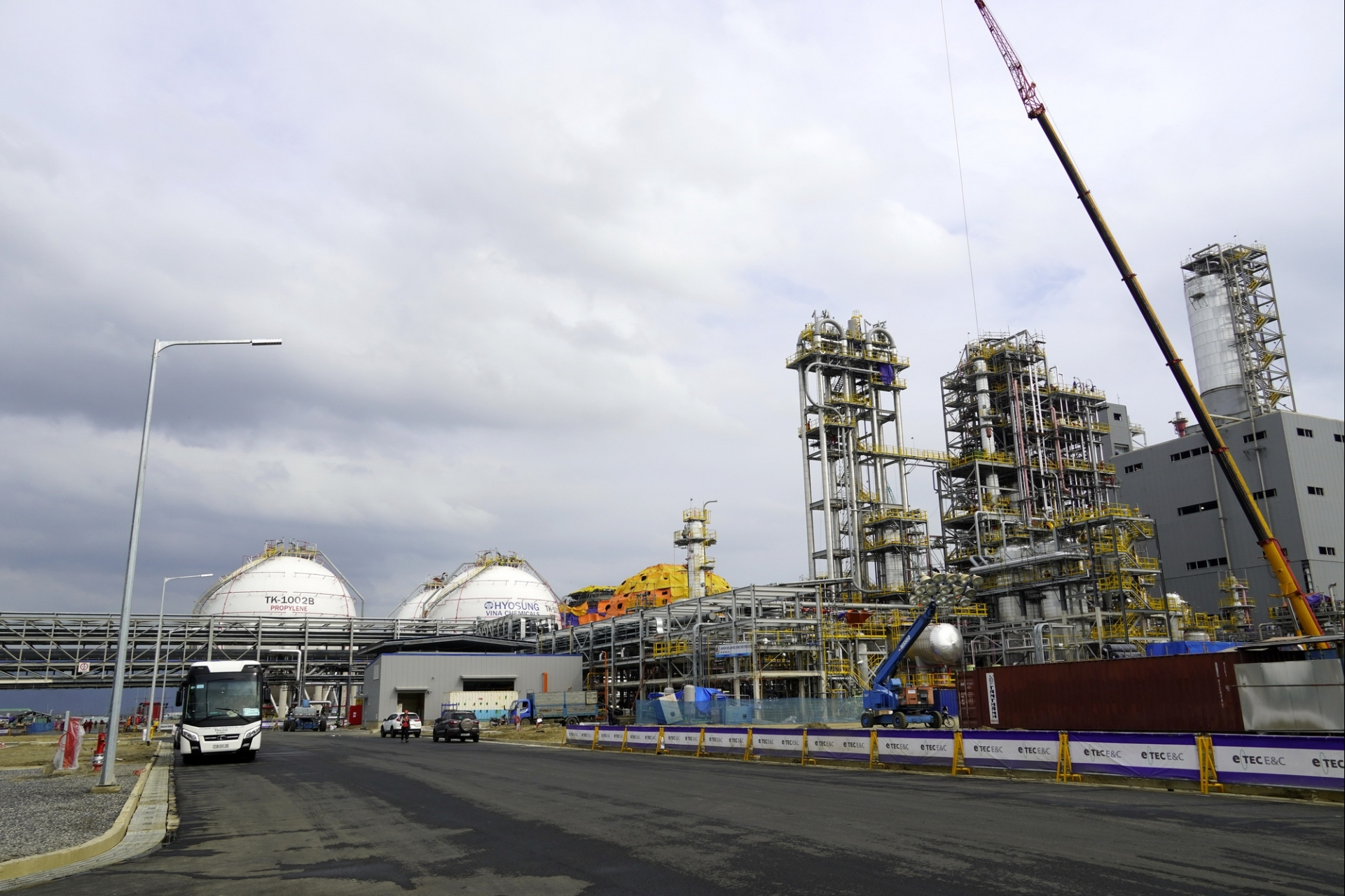 Hyosung Vina Chemicals proposes removing import tax on propane
