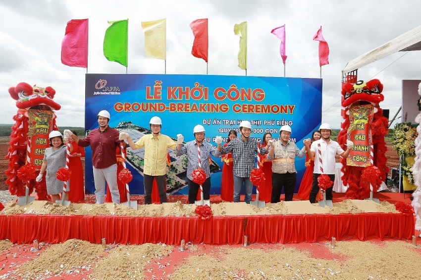 japfa invests in high tech pig farm in binh phuoc