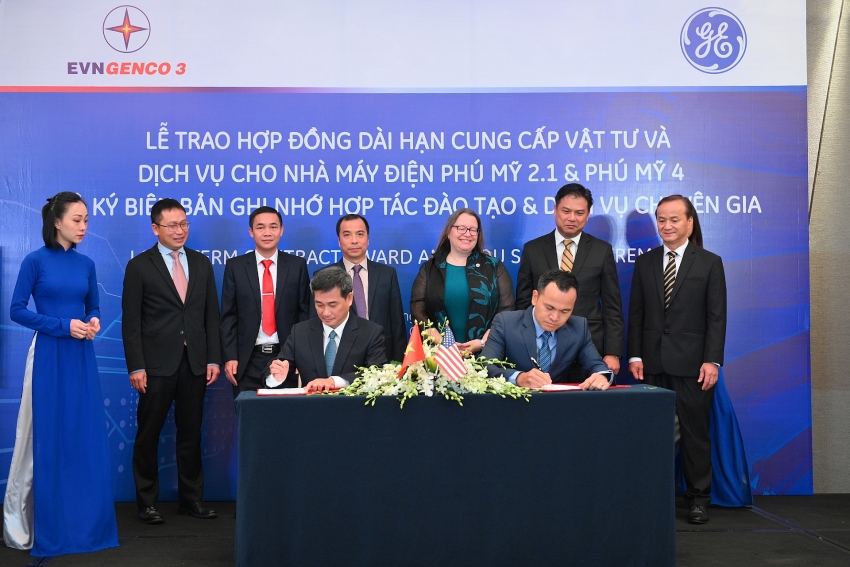 ge signs agreements with evngenco 3 to boost largest power plants in vietnam