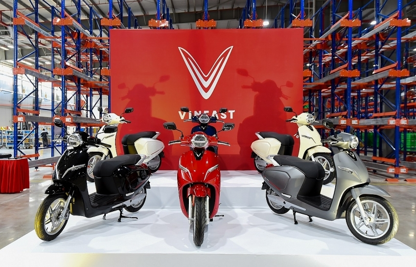 VinFast and Vespa crack open electric motorcycle segment