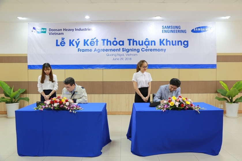 Samsung Engineering selects Doosan Vina as partner