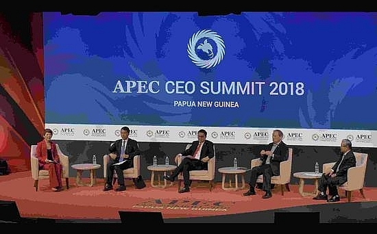 while trade tension mounts confidence in apec remains high
