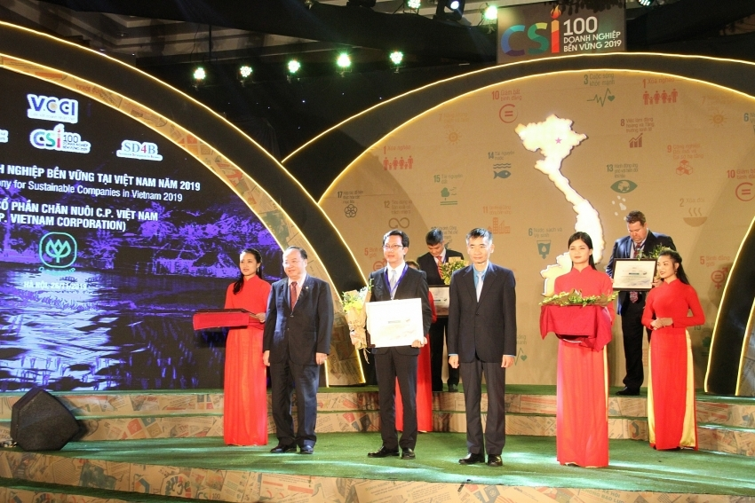 C.P. Vietnam in Top 100 Sustainable Businesses for second time