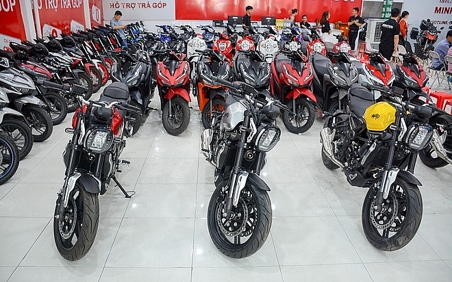 Demand for motorbikes in Vietnam decreases by 10.9 per cent this year