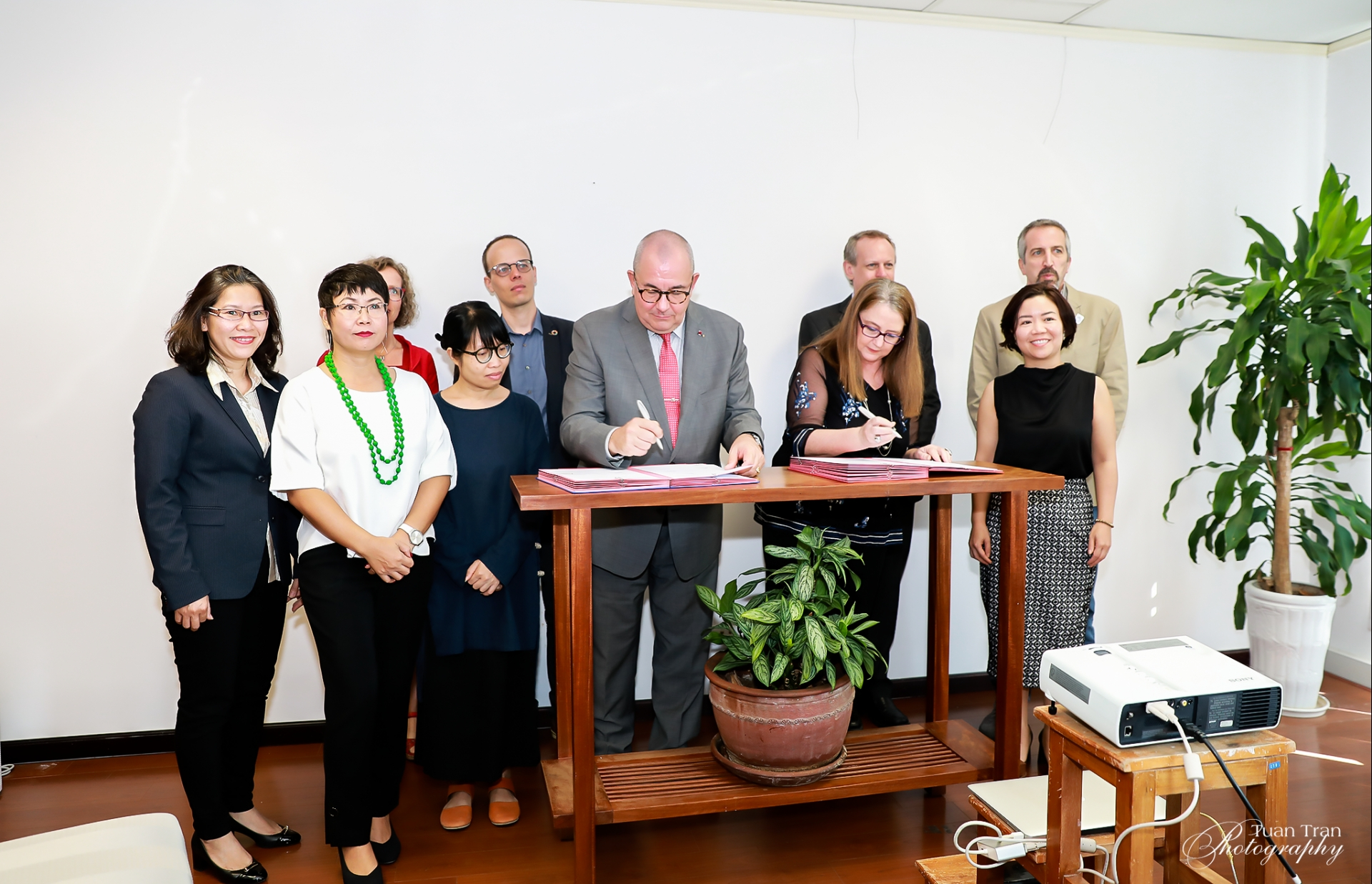 Non-government organisations sign charter on sustainable environment