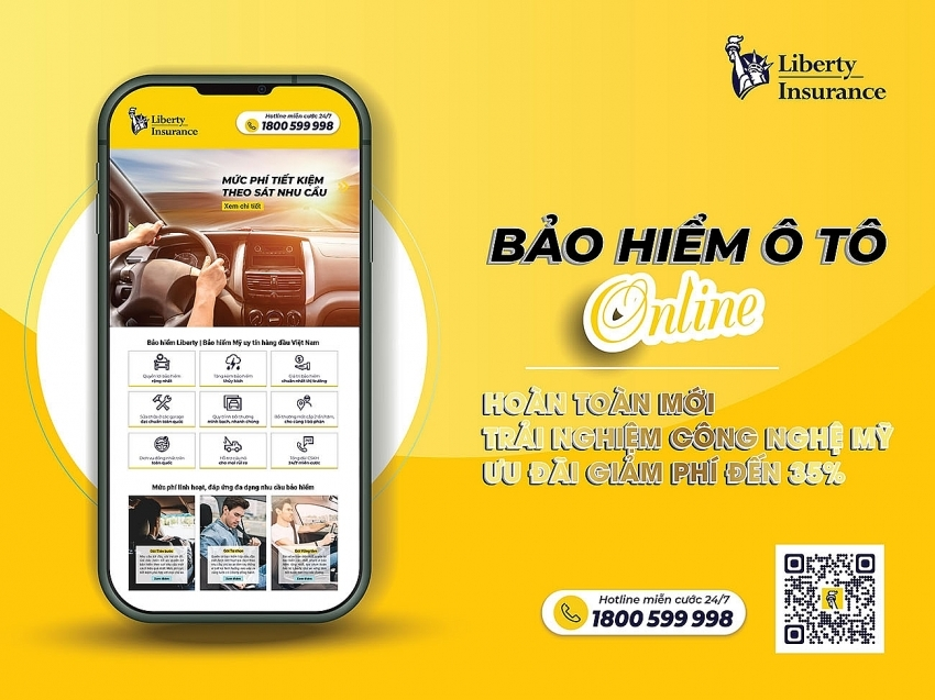 Liberty Insurance Ltd. launches online automobile insurance for first time in Vietnam