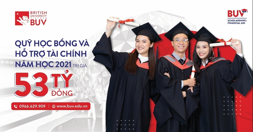 British University Vietnam increases scholarship and financial support fund