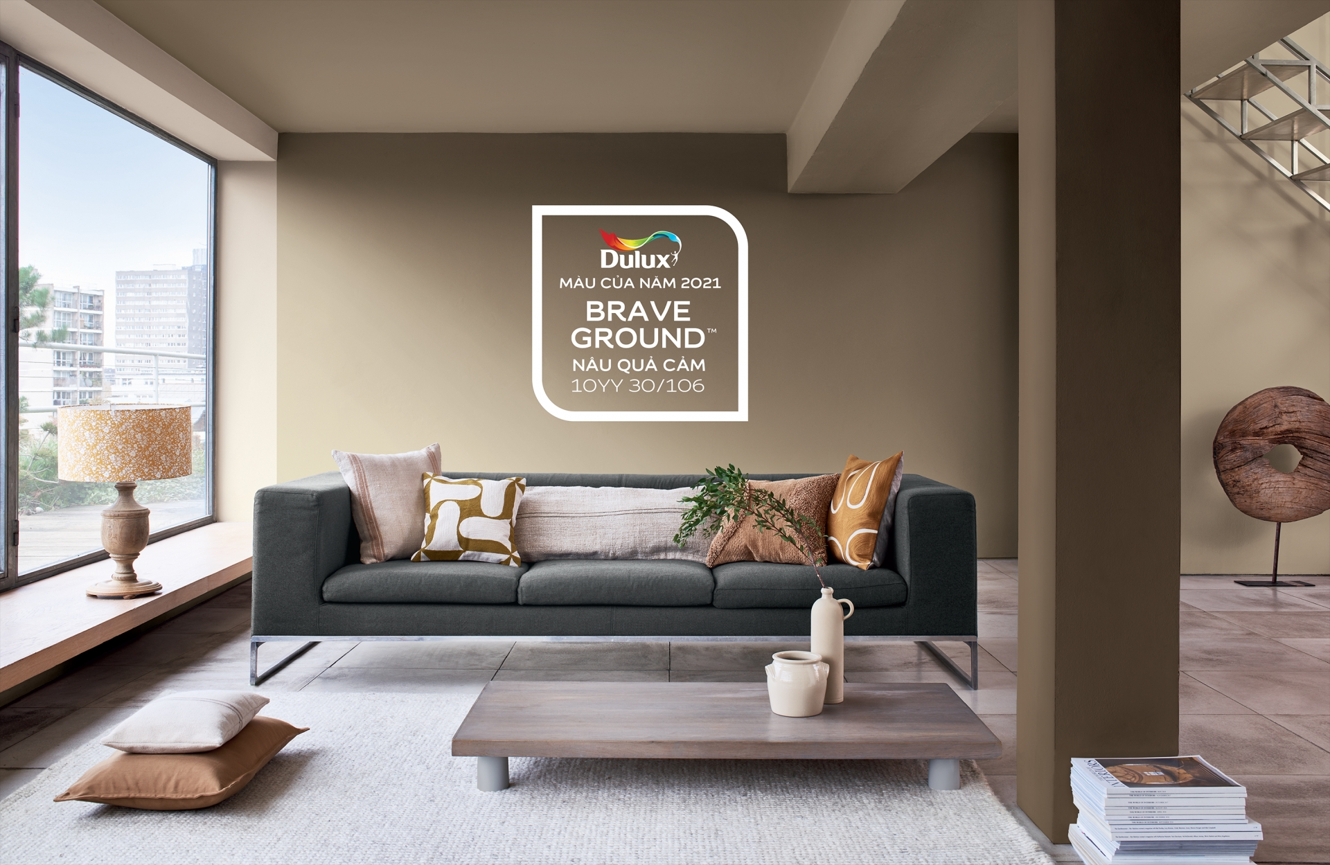 AkzoNobel unearths courage with Brave Brown as colour of the year 2021