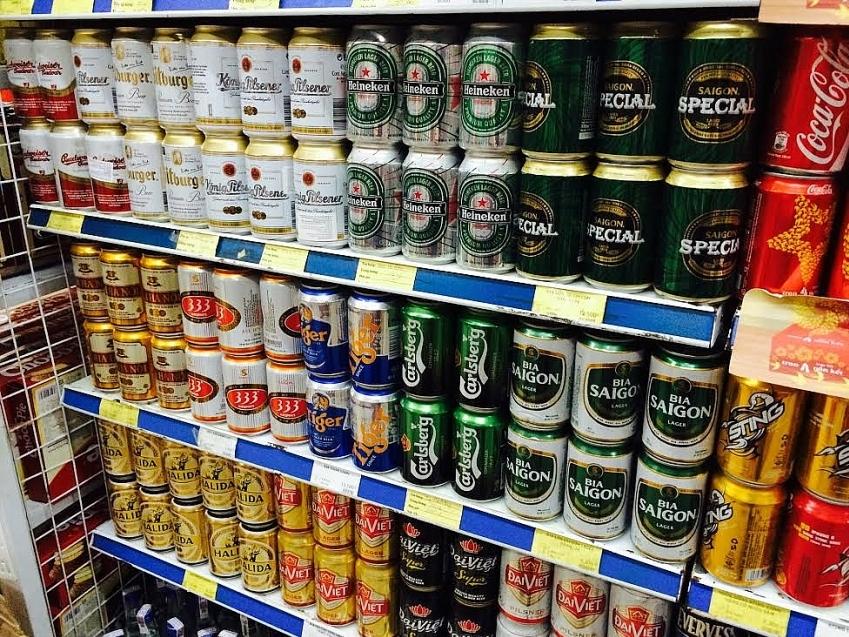 Vietnamese beer market: foreign giants in control