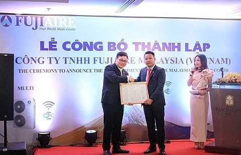 Fujiaire Malaysia sets foot in Vietnam