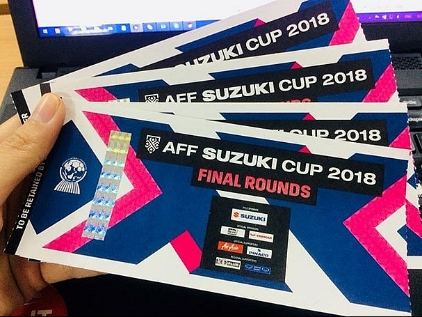 Online tickets for Vietnam-Malaysia finals sold out in minutes