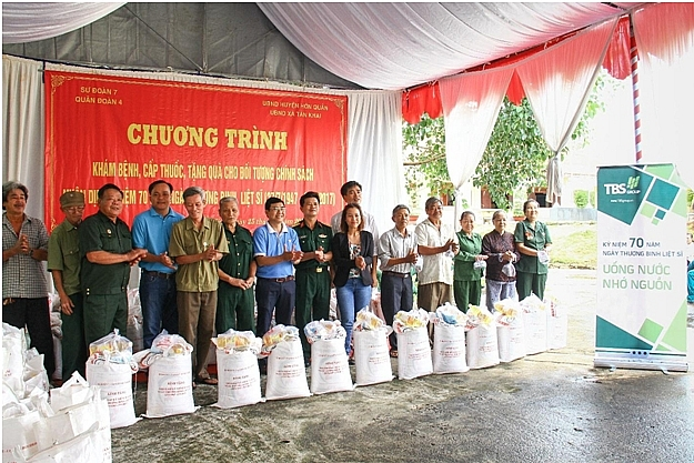 tbs group third year among top 10 vietnam sustainable businesses