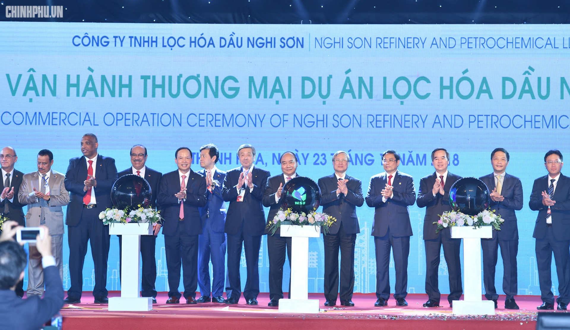 NSRP inaugurates Nghi Son Petrochemical Refinery