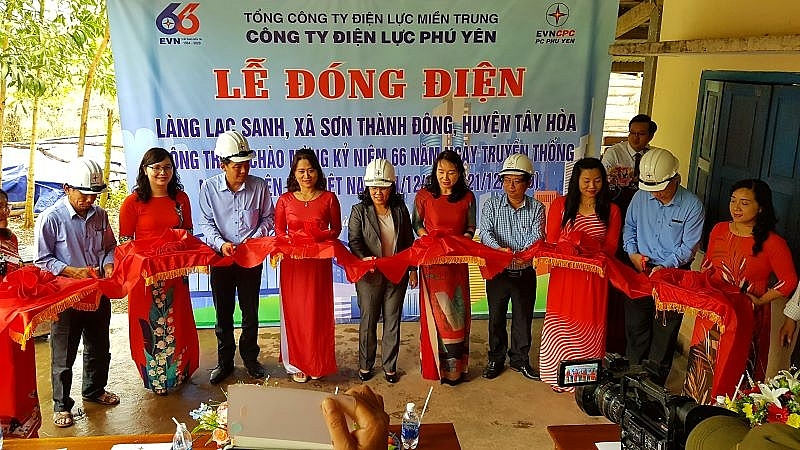 100 per cent households in phu yen connect with national power grid