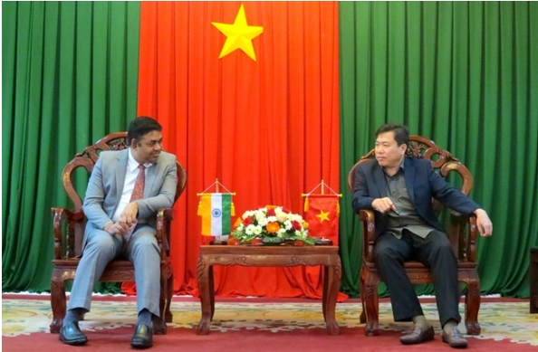 Consulate General of India looks for investment opportunities in Phu Yen