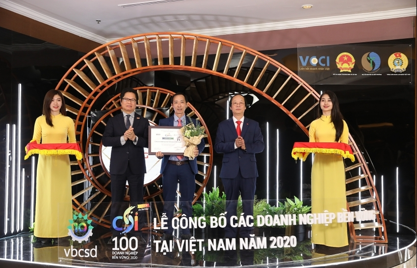 SCG Concrete Roof honored among Top 100 Sustainable Companies in Vietnam