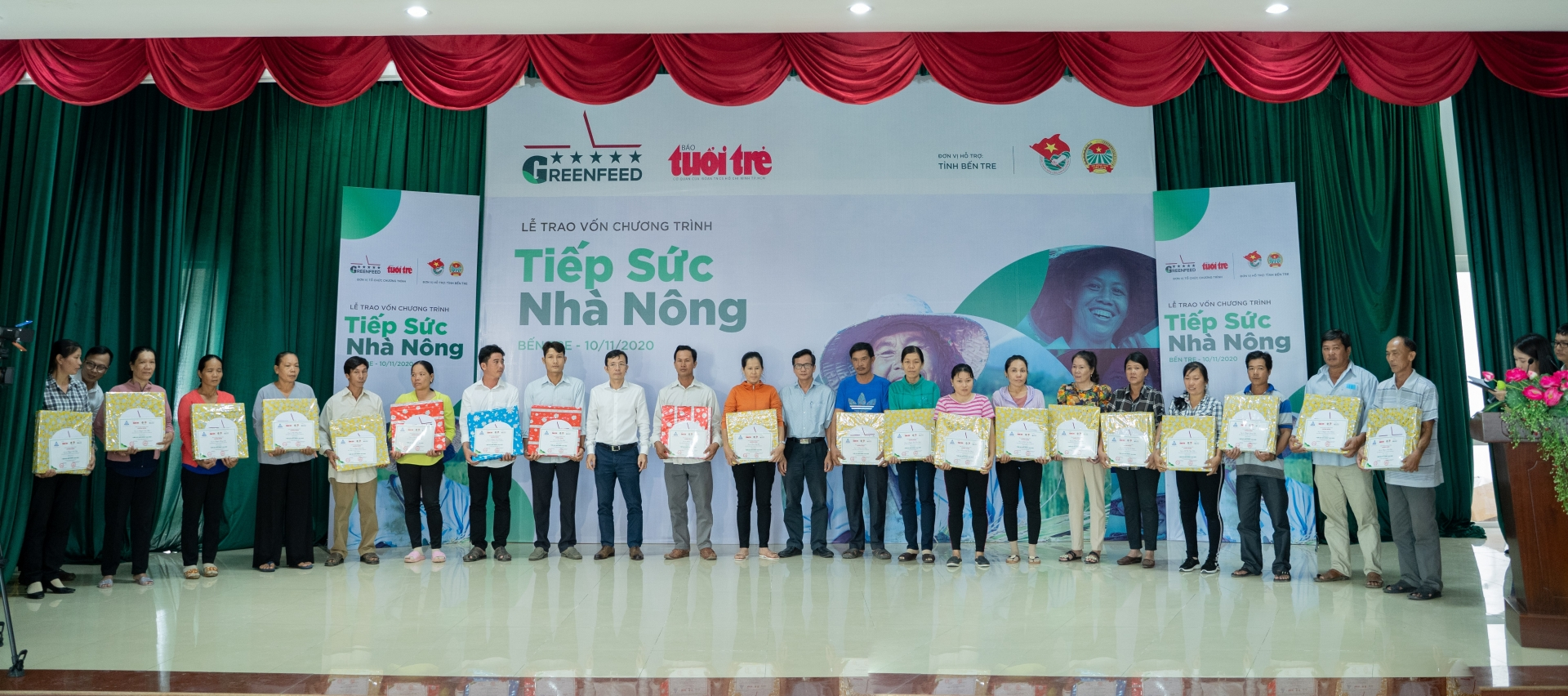 Tiep Suc Nha Nong 2020 continues supporting livelihood of farmers