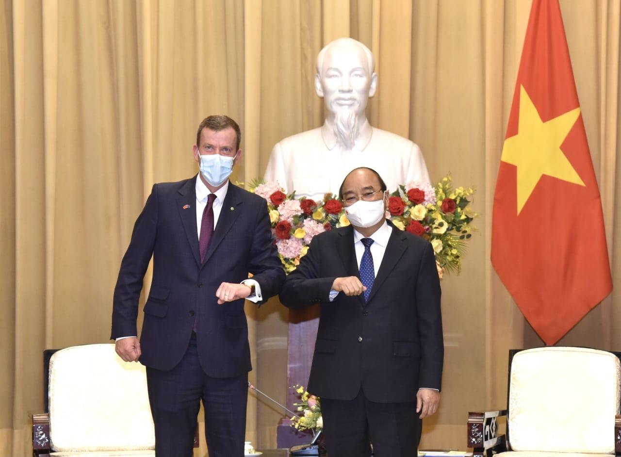 Australia donates nearly $30 million and 1.5 million vaccines to Vietnam