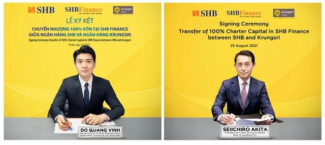 Thai bank Krungsri to acquire SHB Finance amid a $156-million deal