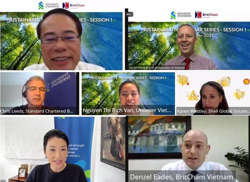 Standard Chartered and Britcham webinar discusses carbon markets and net zero