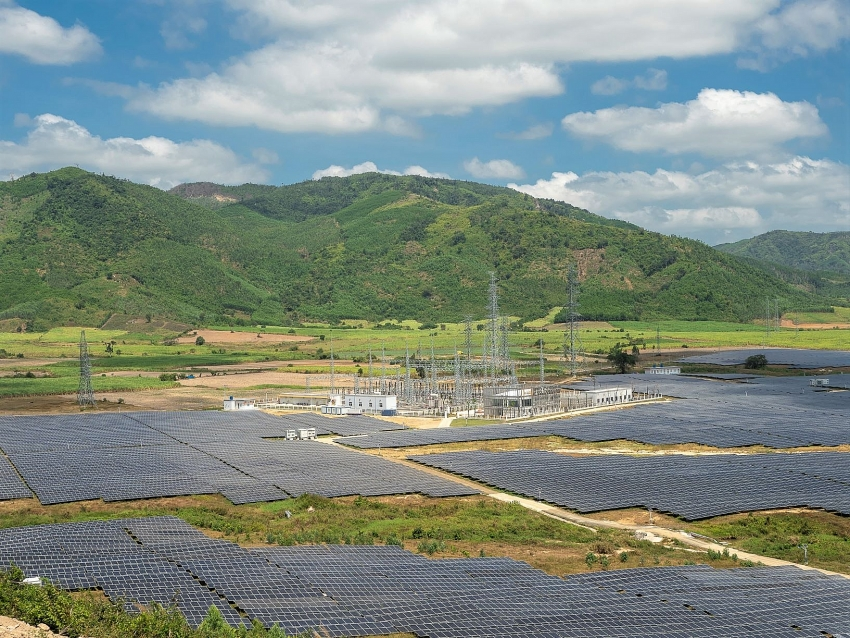 jica funded leap fund finances one of the largest solar power plants in vietnam