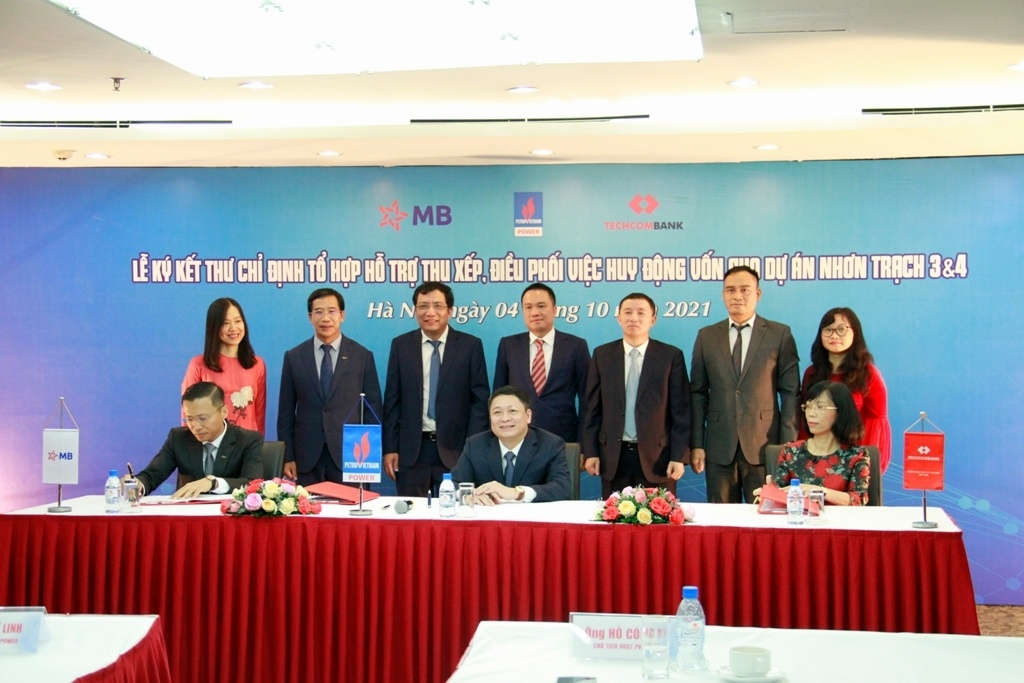 Techcombank and MB to facilitate syndicated loan package for Nhon Trach 3 and 4
