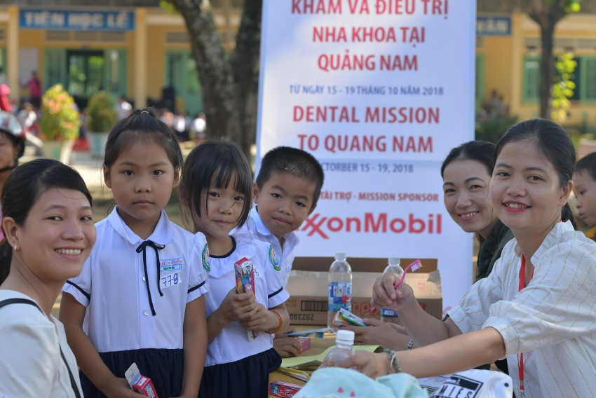 exxonmobil contributes usd 80000 to childrens healthcare in central vietnam