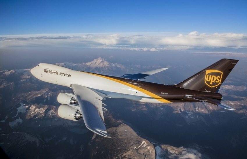 UPS commits to purchasing 14 additional 747-8F freighters and orders 4 new 767s