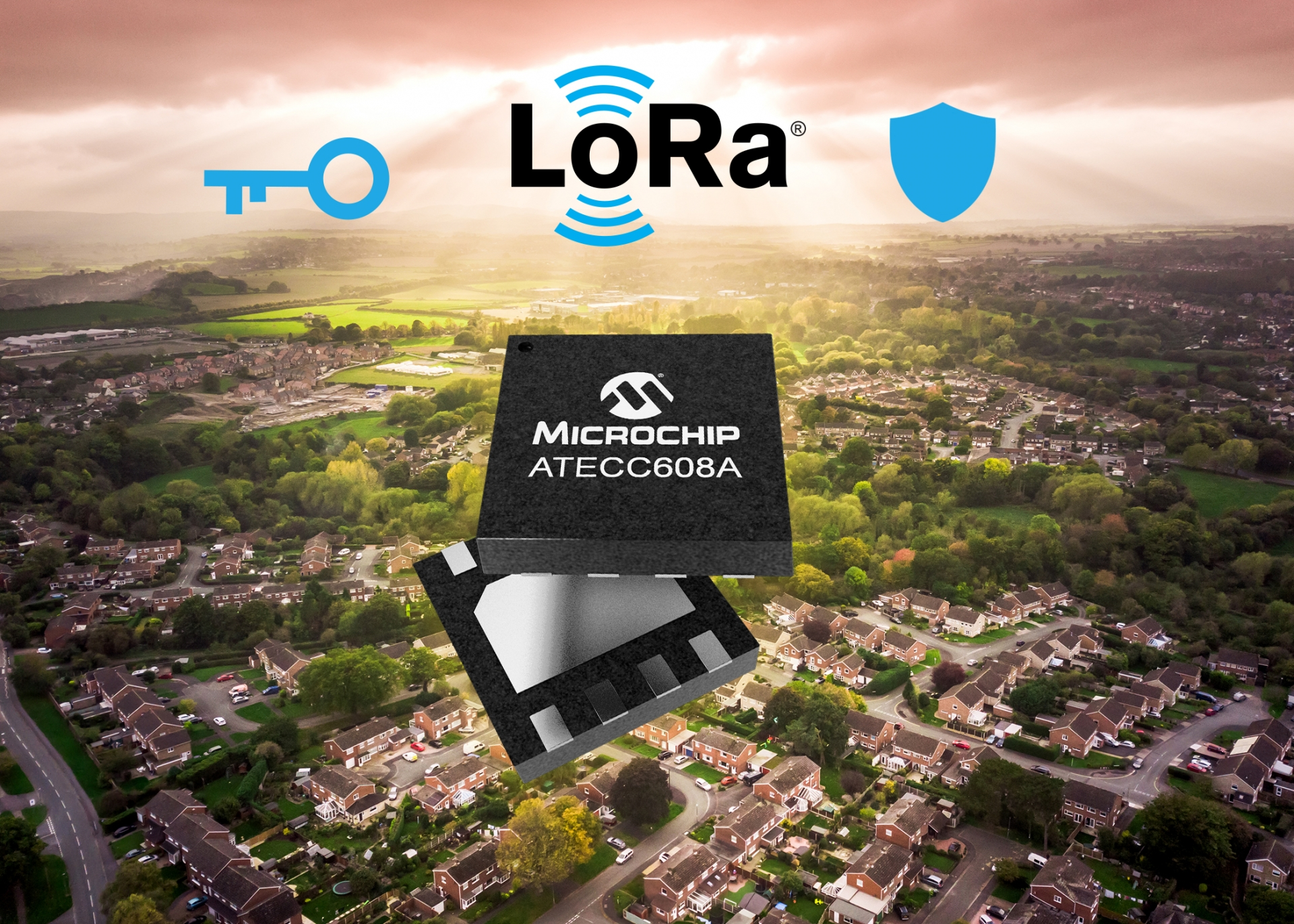 Industry-first end-to-end LoRa solution offers secure key provisioning