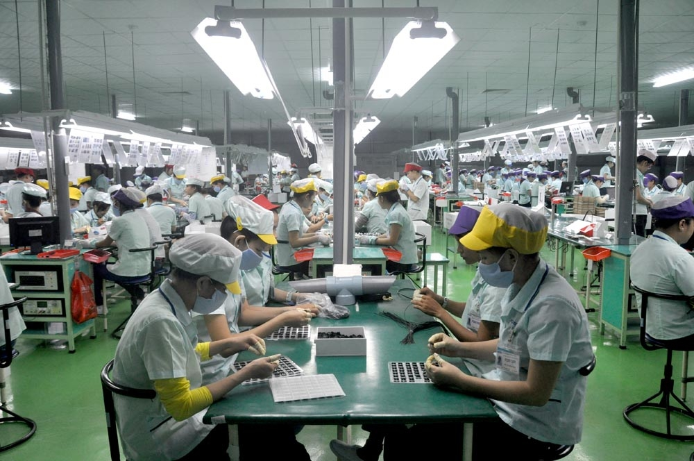 Additionally-registered FDI capital rises 2.5-fold