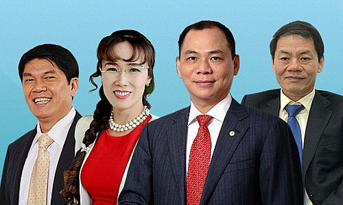 four vietnamese billionaires on forbes list