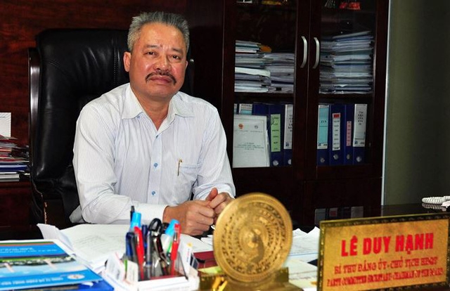 chairman of evn tpc quang ninh arrested