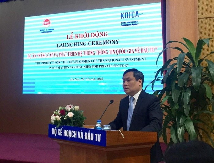 MPI and KOICA launch project on private sector information system