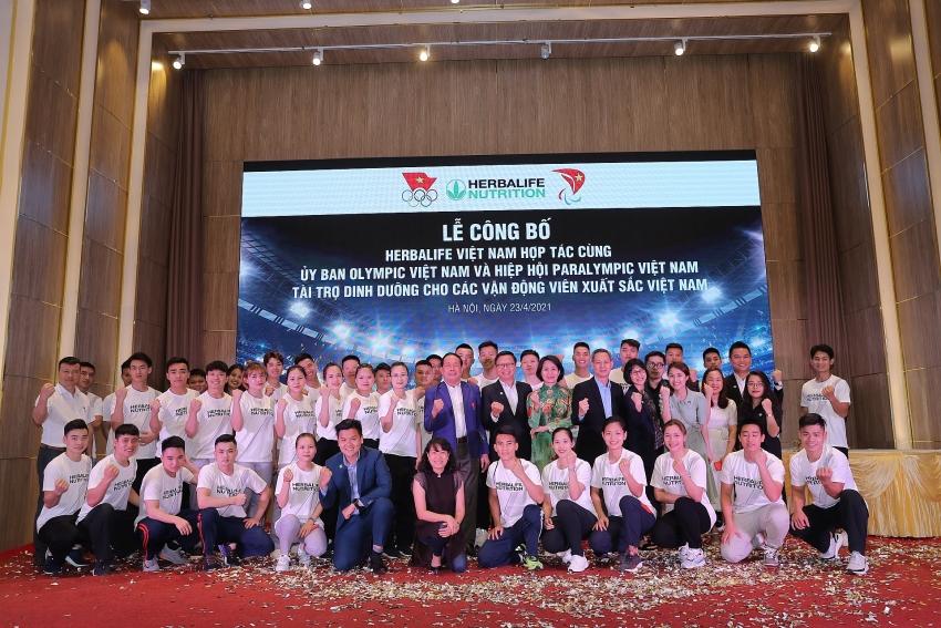 herbalife vietnam announces nutrition sponsorship for top vietnamese athletes in 2021