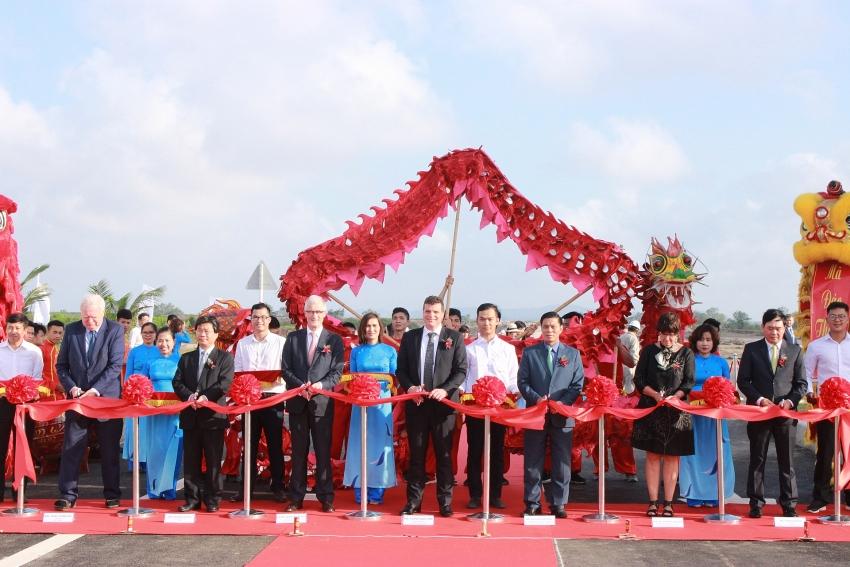deep c hp ii industrial zone welcomes first three investors