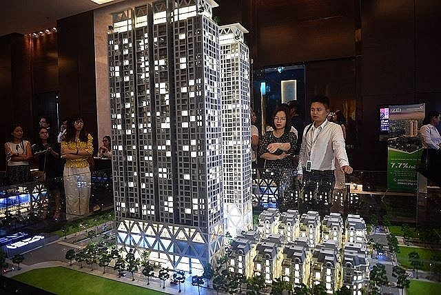 the zei vertical city being developed at my dinh