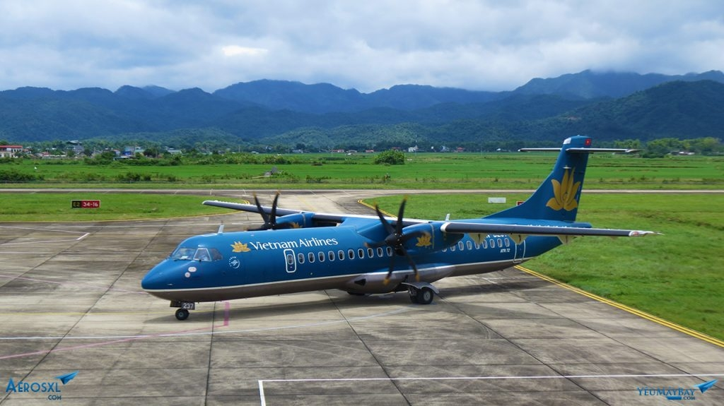 vietnam airlines jsc planing to acmi lease two turbo propeller atr 72