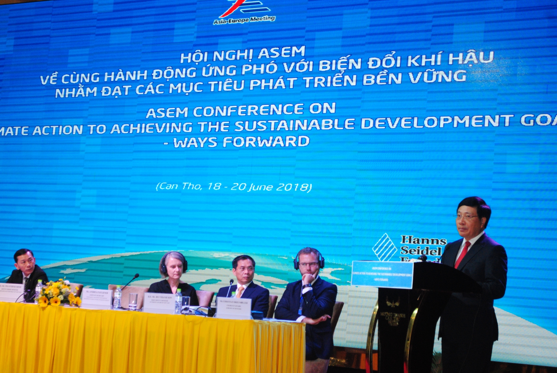 ASEM on climate action to achieving the sustainable development goals