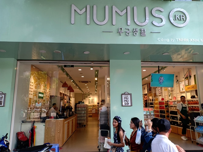 Mumuso's tax code identical to another Vietnamese company