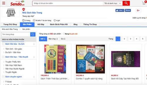 Fake books available for sale on Lazada, Shopee, Sendo