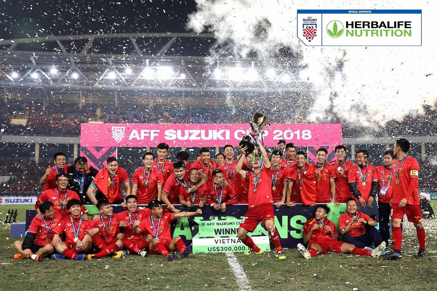 Herbalife Vietnam becomes sponsor of AFF Suzuki Cup 2020