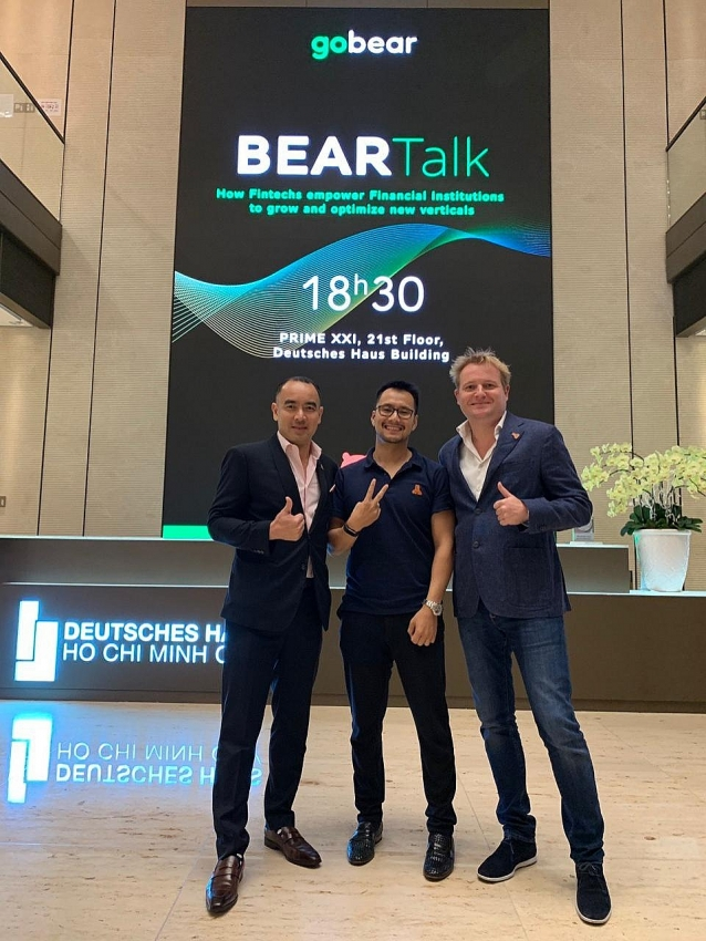 vietnams leading ceos meet to discuss ways to improve financial inclusion at gobears annual beartalk event