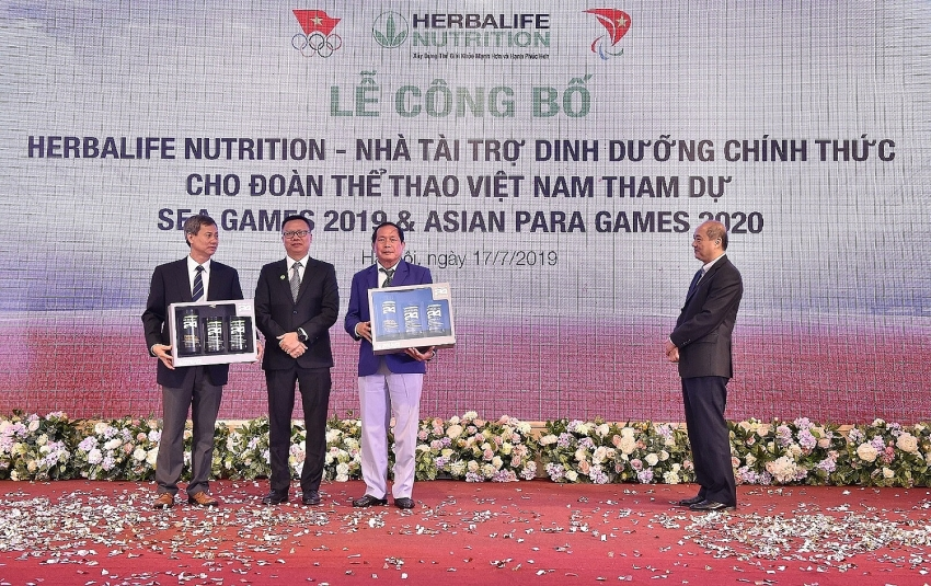 herbalife nutrition announces athlete sponsorship for 2019 sea games and 2020 asean para games